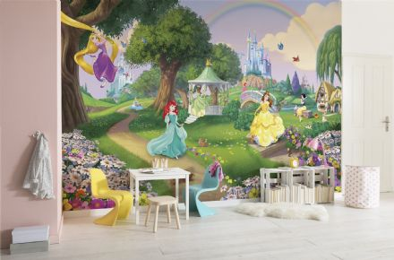 Wallpaper mural Princess garden Disney